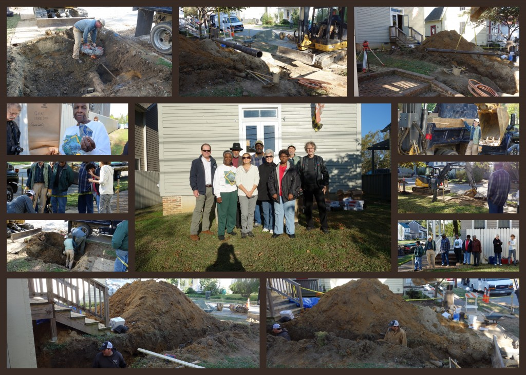 Ground Breaking at GAR Oct 2013