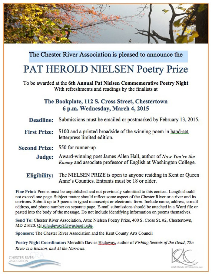 Pat Nielson Poetry Competition 2015