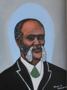 This painting of Henry Highland Garnet, by Allan M. Johnson of Chestertown, is on display at the Bordley History Center at 301 High Street.