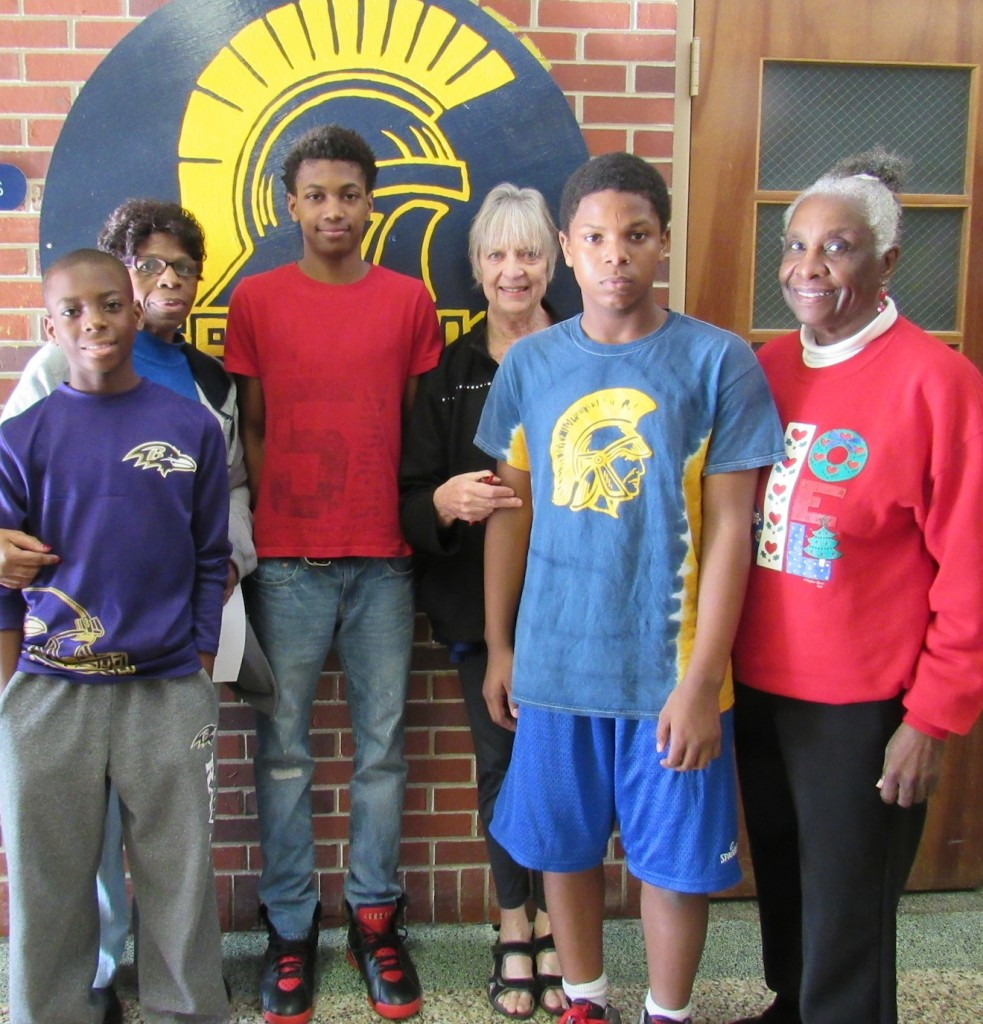 Vincent Hynson 2016 Award Students