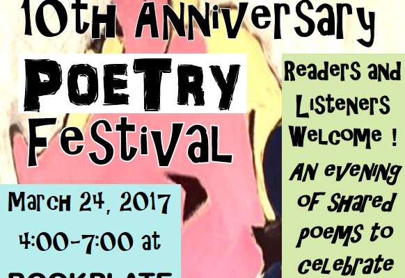 Please join us on Friday, March 24 to read one […]